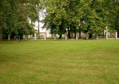 Parkwiese in Pärnu (Estland)